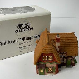"""Department 56 """"Cobb Cottage """" Dickens"""
